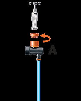 Claber timer kit 20 logica 90766 kit drip vasi 90764 for Claber timer irrigazione