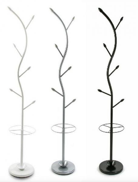Appendiabiti piantana moderno a forma di albero + ...