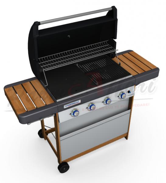 barbecue campingaz 4 series woody l parmaaffari. Black Bedroom Furniture Sets. Home Design Ideas