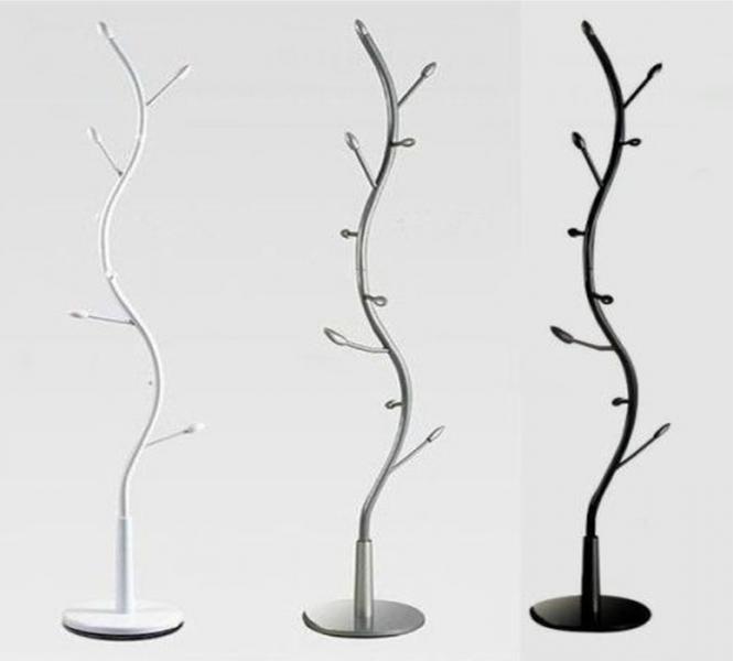 Appendiabiti piantana moderno a forma di albero | ParmaAffari